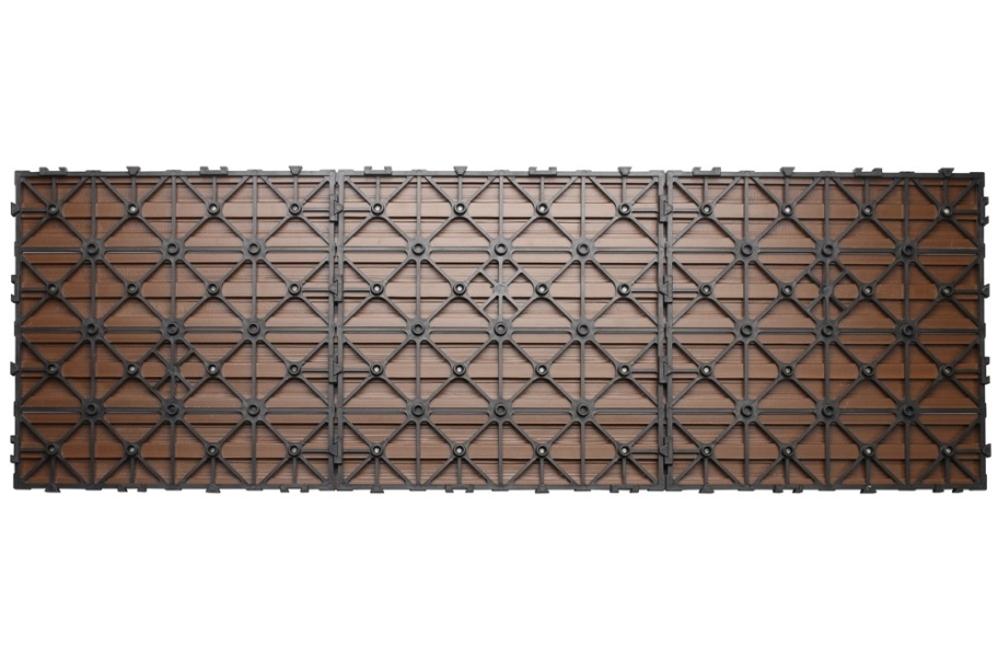 "UltraShield Naturale 12"" x 36"" Deck Tiles"
