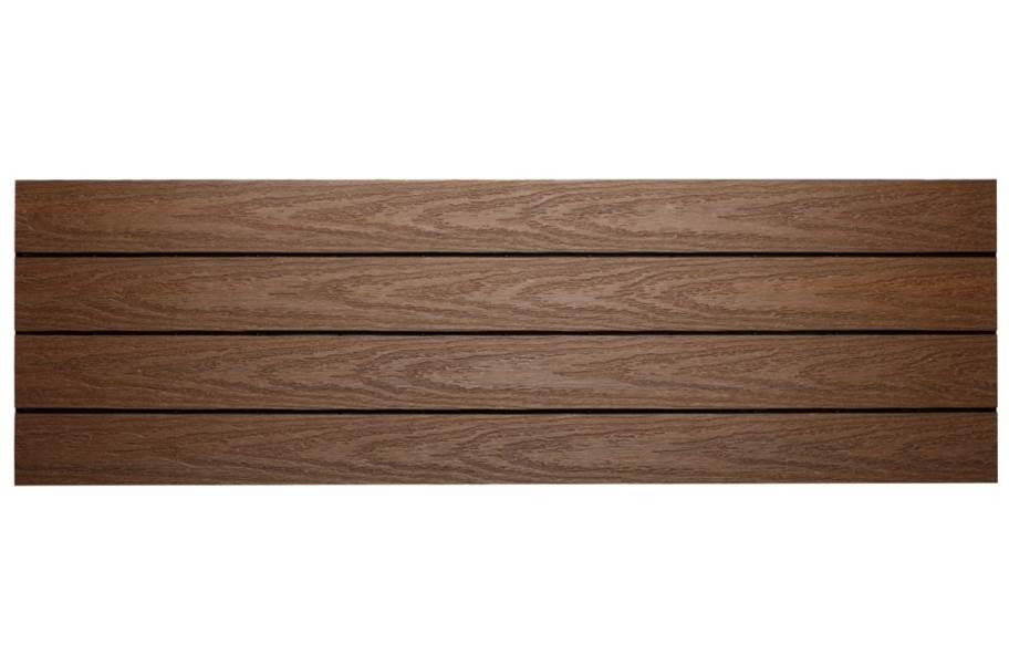 "UltraShield Naturale 12"" x 36"" Deck Tiles - Brazilian Ipe"
