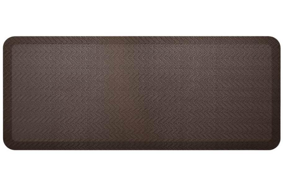 GelPro NewLife Designer Sisal Comfort Mat - Coffee Bean