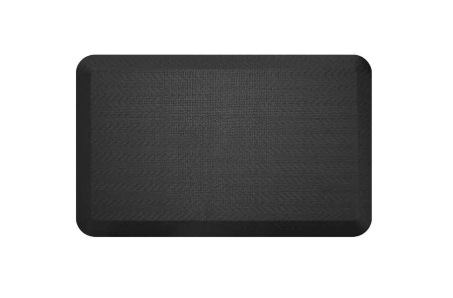 GelPro NewLife Designer Sisal Comfort Mat - Black
