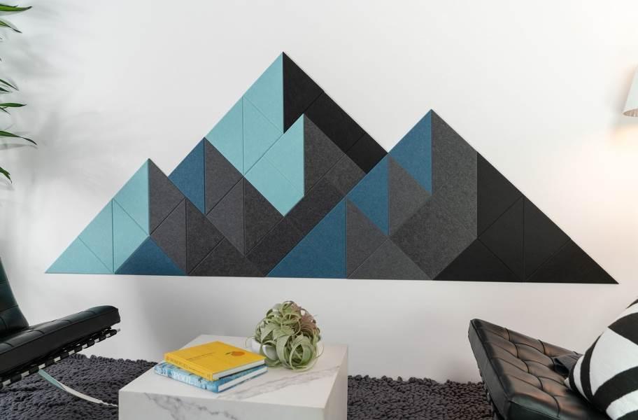 Felt Right Shaded Mountain Acoustic Wall Tiles