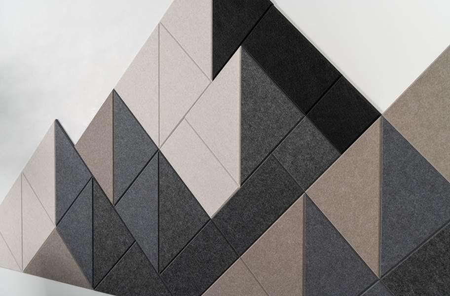 Felt Right Shaded Mountain Acoustic Wall Tiles - Warm Shaded Mountain