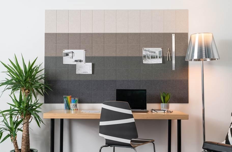 Felt Right Ombre Acoustic Wall Tiles
