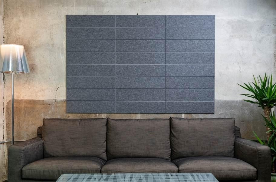 Felt Right Shiplap Acoustic Wall Tiles - Armor