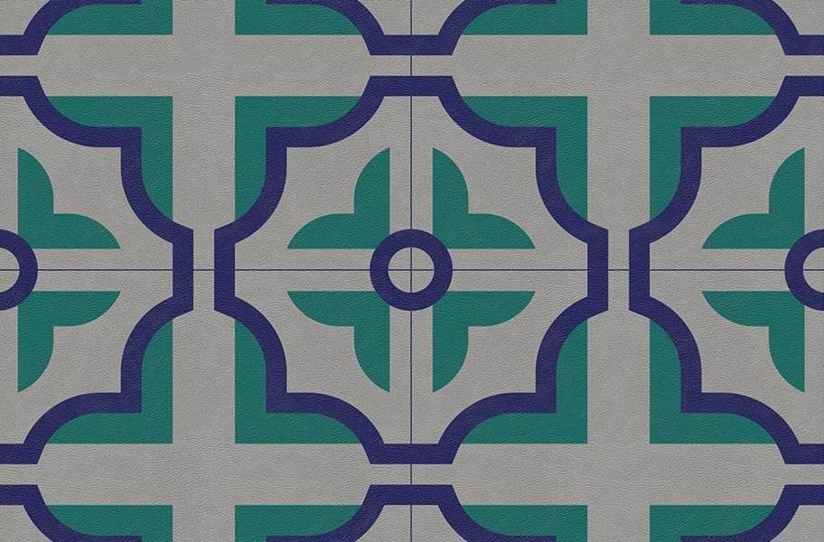 Margo Flex Tiles - Modern Mosaics - Floret Light