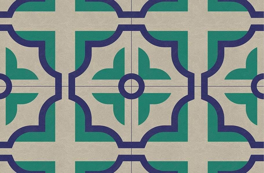 Margo Flex Tiles - Modern Mosaics - Floret Light Accent