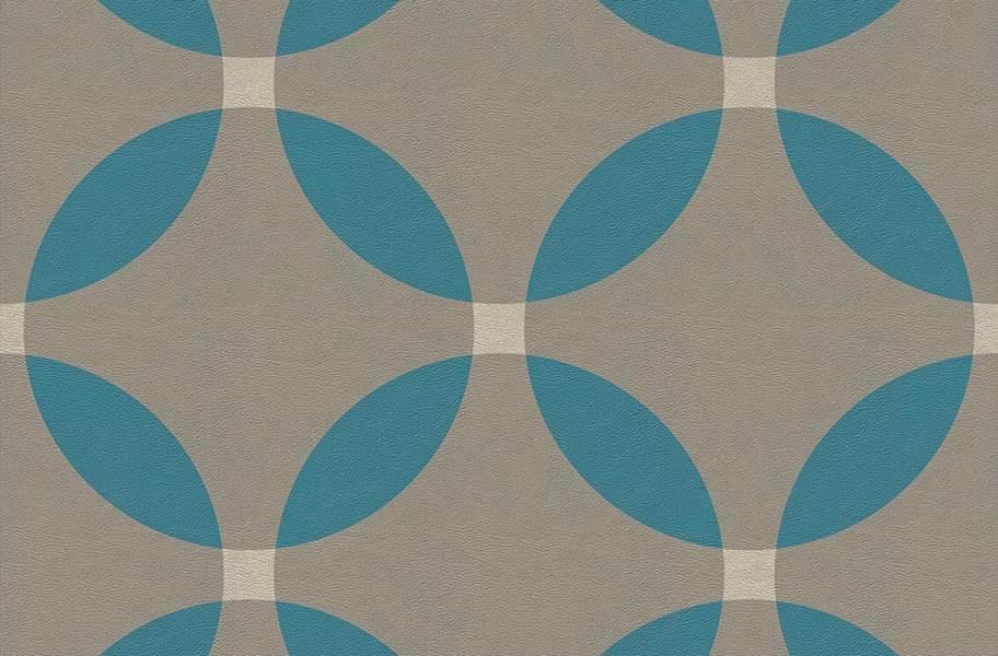 Margo Flex Tiles - Modern Mosaics - Floret Midnight