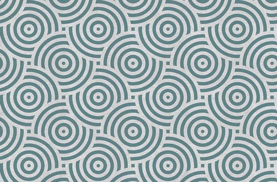 Margo Flex Tiles - Modern Mosaics - Sweet Swirl Teal