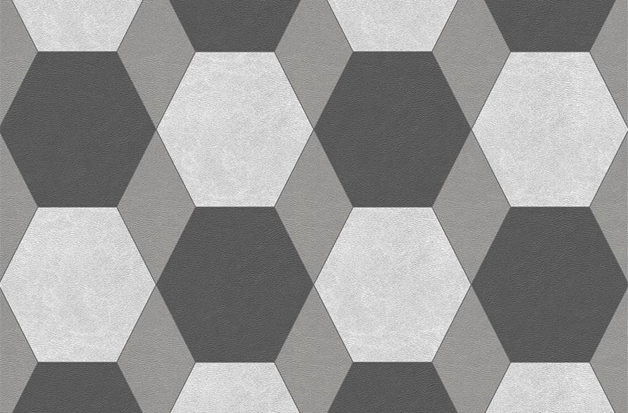 Margo Flex Tiles - Modern Mosaics - York Dark Gray