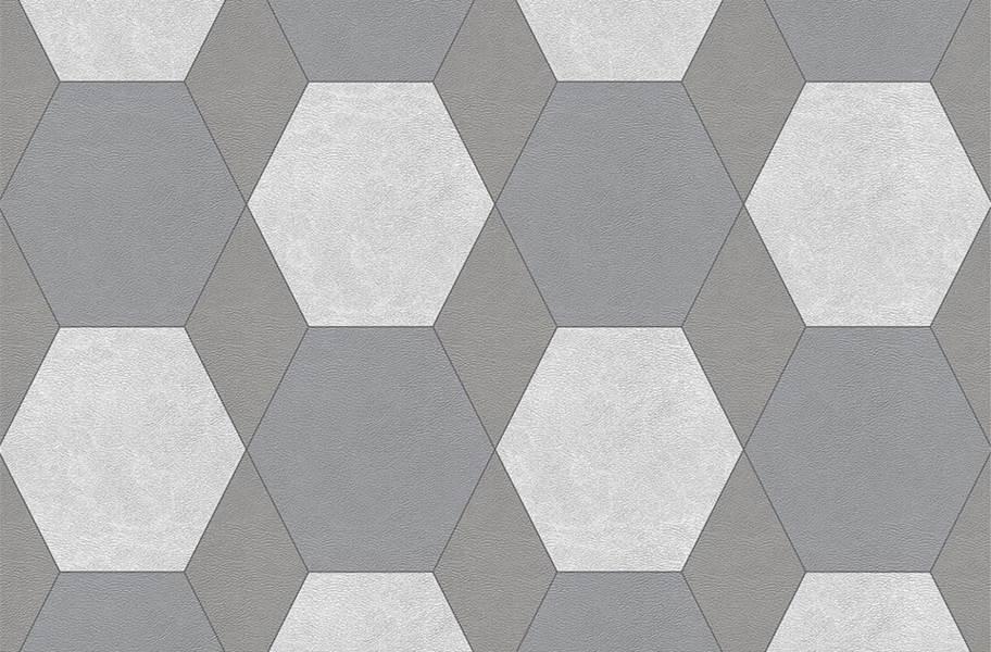Margo Flex Tiles - Modern Mosaics - York Light Gray