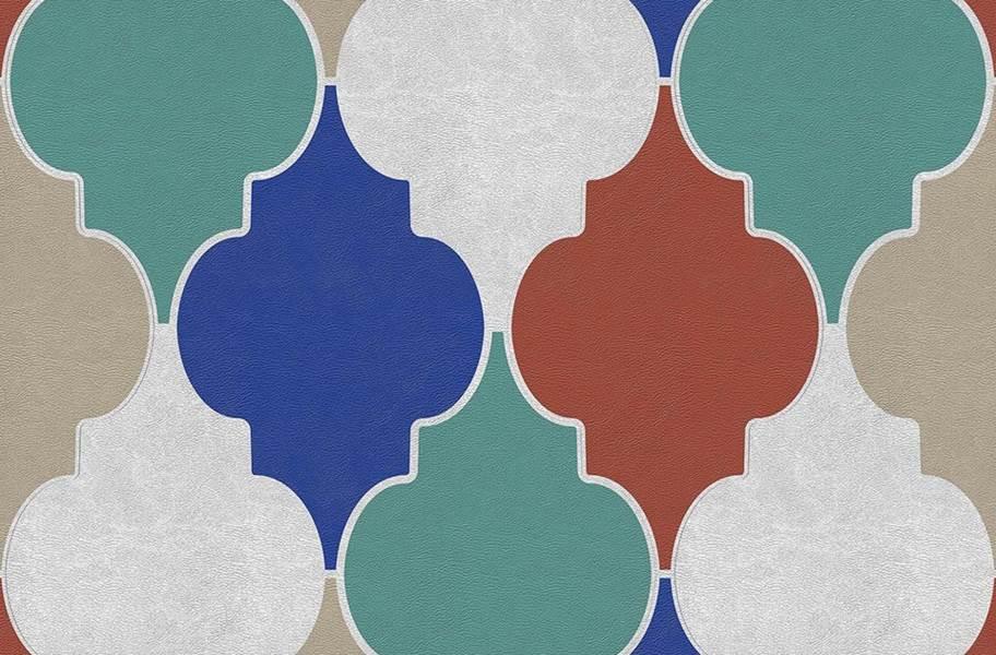 Margo Flex Tiles - Modern Mosaics - Bisque Dusk