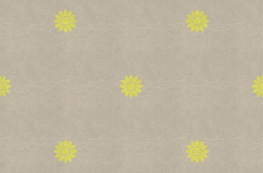 Margo Flex Tiles - Floral Accents - Petal Yellow Accent 2
