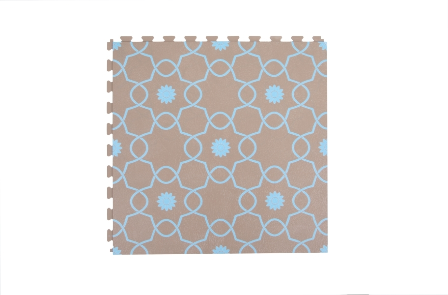 Margo Flex Tiles - Floral Accents - Petal Blue