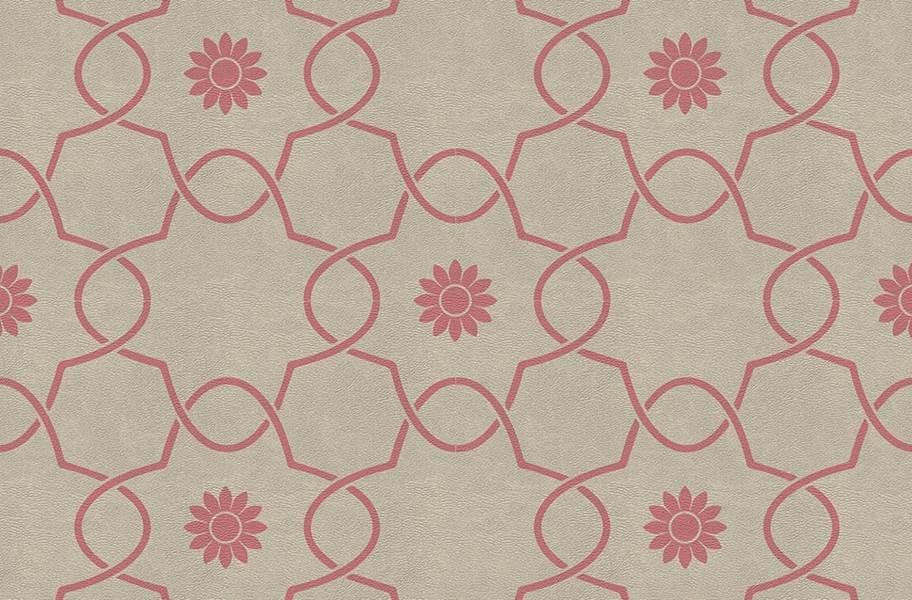 Margo Flex Tiles - Floral Accents - Petal Pink