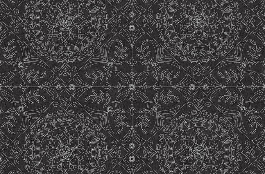 Margo Flex Tiles - Medallions - Medallion Black