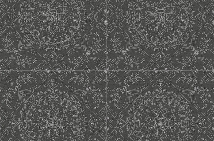 Margo Flex Tiles - Medallions - Medallion Gray