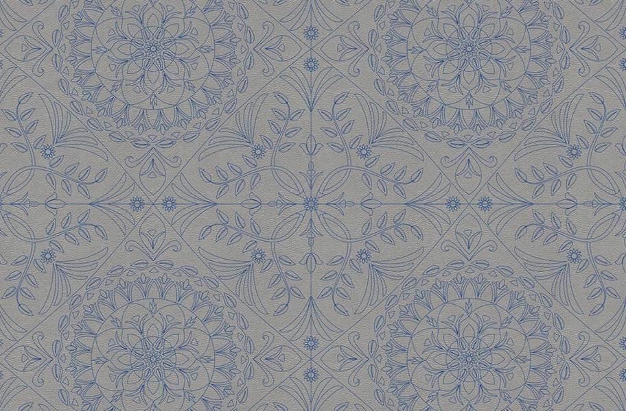 Margo Flex Tiles - Medallions - Medallion Blue