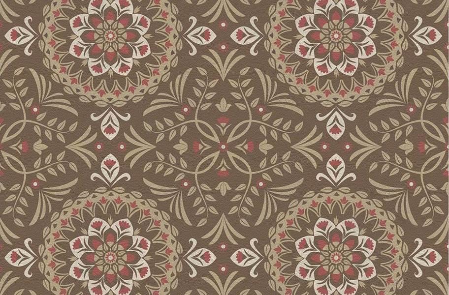 Margo Flex Tiles - Medallions - Medallion Rosso