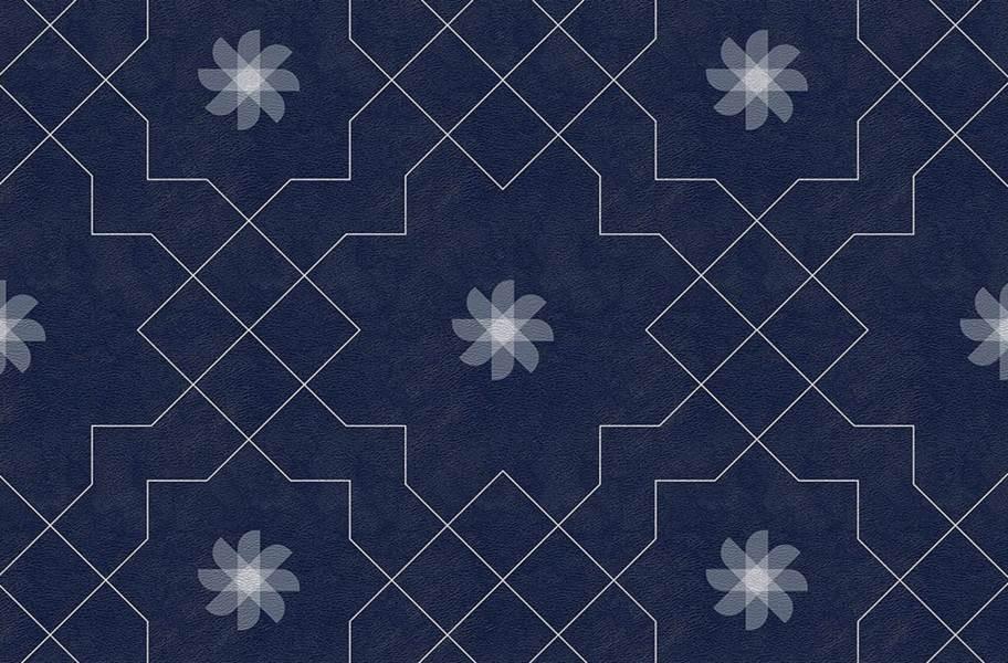 Margo Flex Tiles - Medallions - Pinwheel Deep Royal