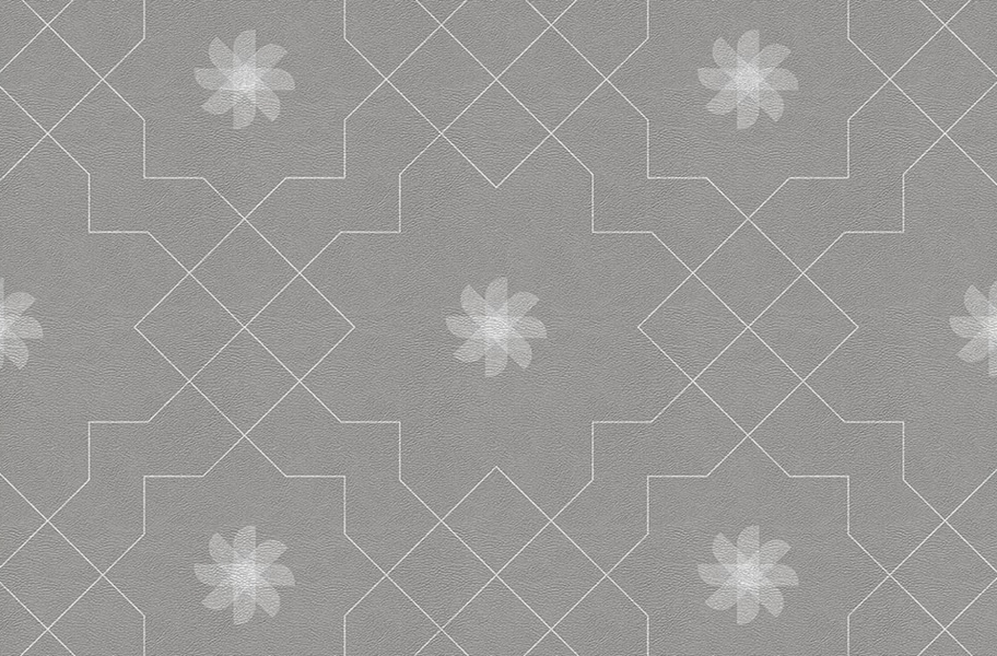 Margo Flex Tiles - Medallions - Pinwheel Dove