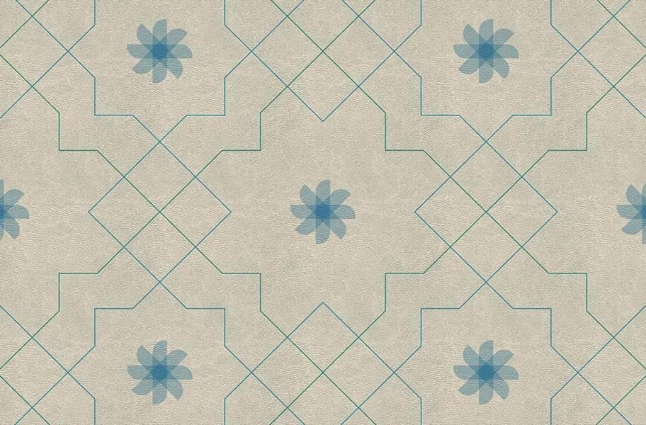 Margo Flex Tiles - Medallions - Pinwheel Vanilla