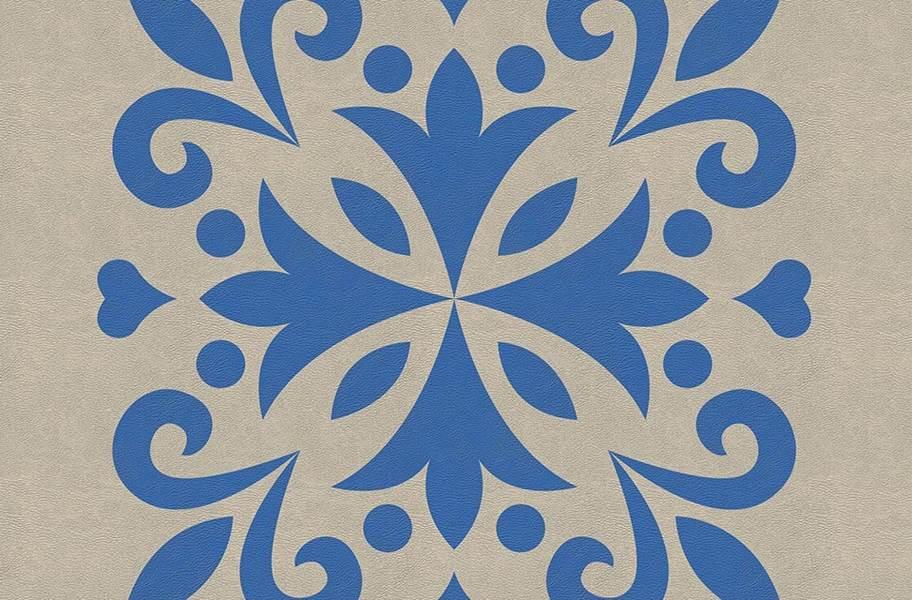 Margo Flex Tiles - Medallions - Jubilee Blue Accent