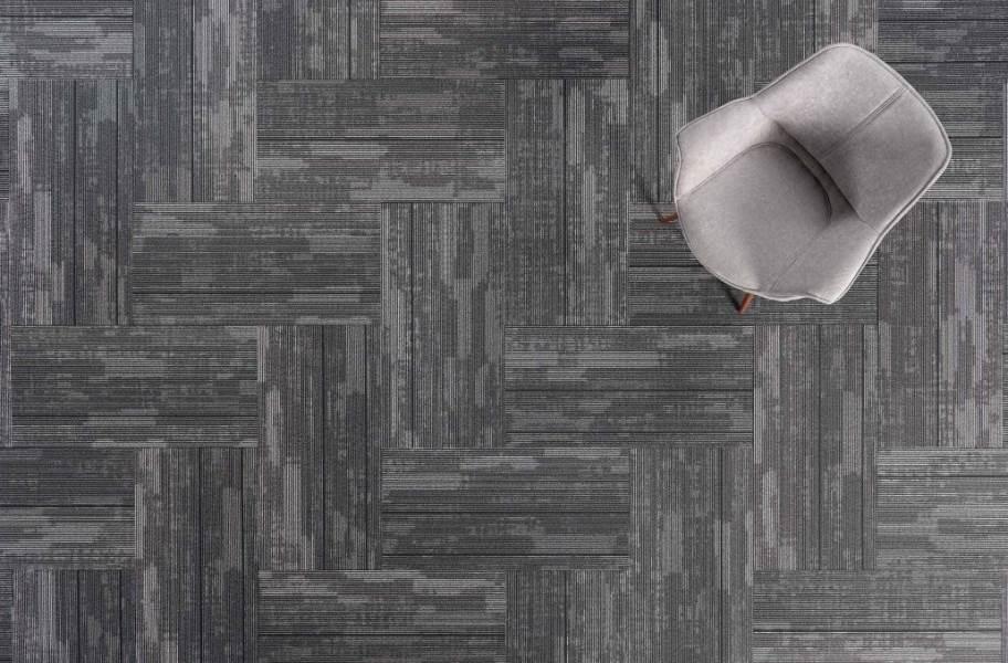 J&J Flooring Fast Track Carpet Plank - Chase