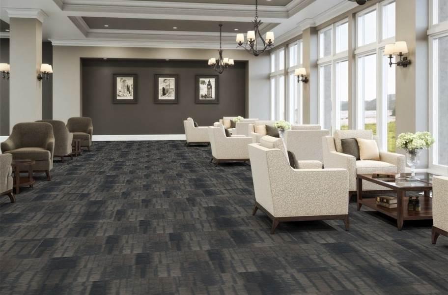 J&J Flooring Well Versed Carpet Tile - Wilde