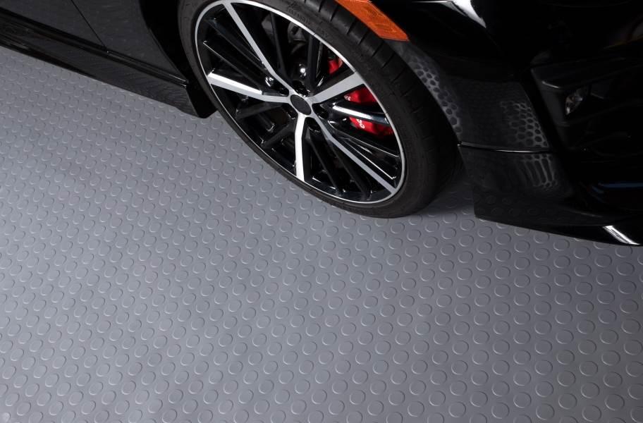 Coin Nitro Garage Floor Mats - Graphite