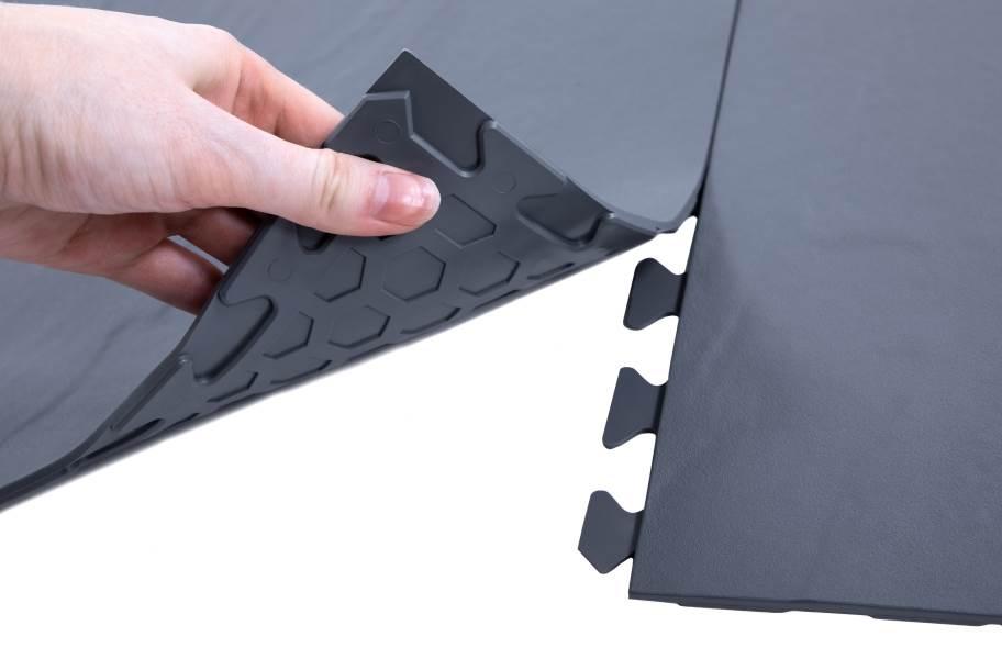 Slate Flex Nitro Tiles - Dark Gray