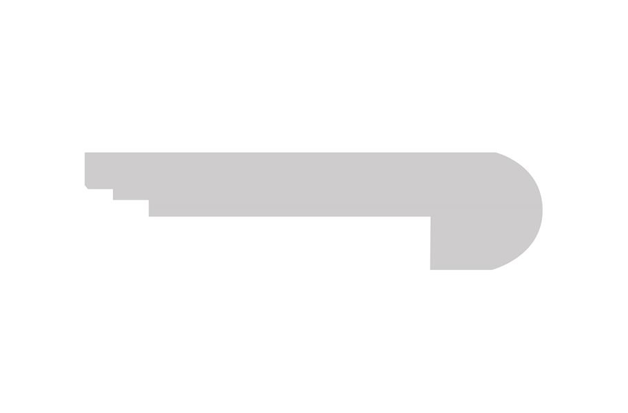 "COREtec + Enhanced Herringbone 94"" Stair Nose"