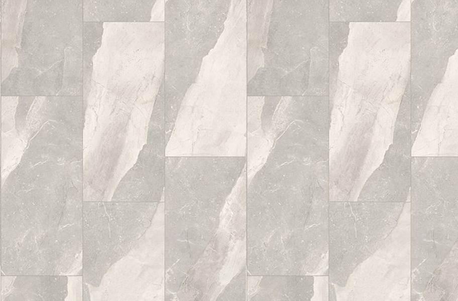 "Mohawk Wanderer's Loop 16"" Rigid Vinyl Planks - Stone Grey"