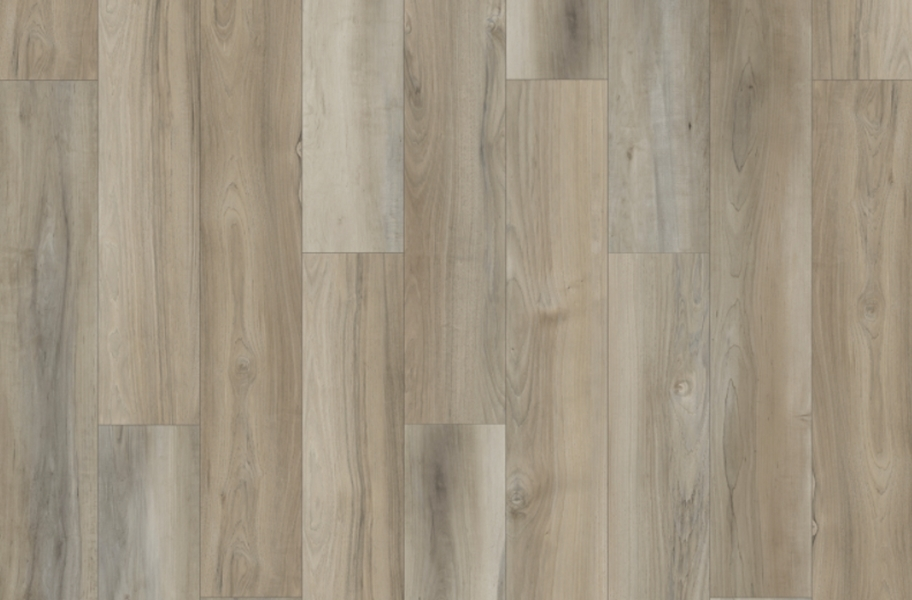 """Mohawk Founder's Trace 7"""" Rigid Vinyl Planks - Cathedral Grey"""