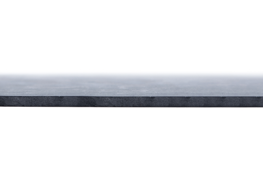 3' EPDM Rubber Sheet - Commercial Grade - 50A