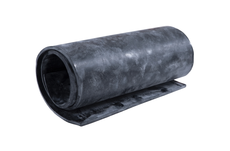 4' EPDM Rubber Sheet - Commercial Grade - 60A
