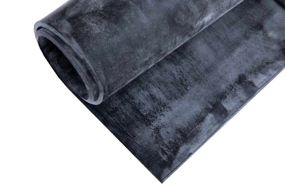 4' EPDM Rubber Sheet - Commercial Grade - 70A