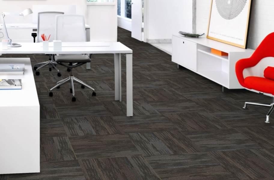 Mohawk Allocation II Carpet Tile - Allotment - Quarter Turn Installation