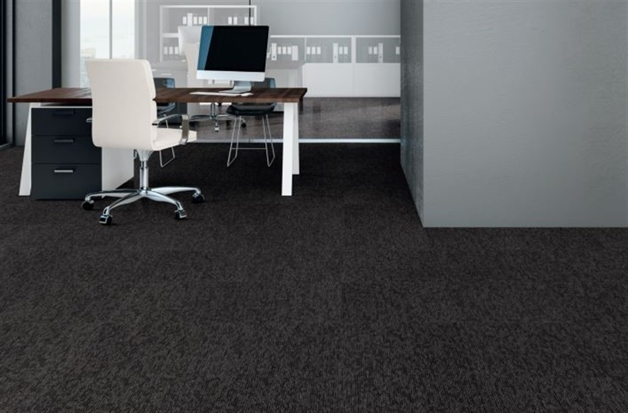 Mohawk Bold Thinking Carpet Tile - Shadow
