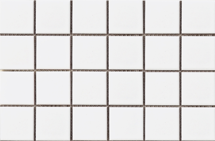 Emser Tile Impact Mosaic - Matte White Square
