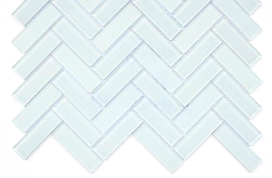 Emser Tile Charisma Glass Mosaic - Delight Herringbone