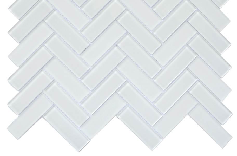 Emser Tile Charisma Glass Mosaic - Finesse Herringbone