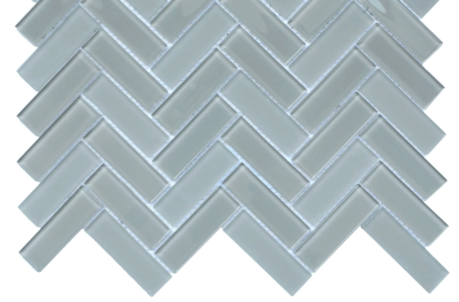 Emser Tile Charisma Glass Mosaic - Grace Herringbone