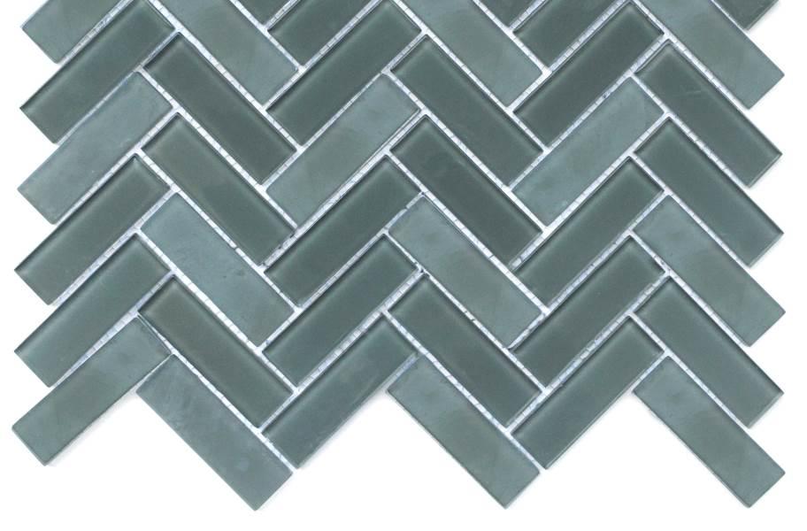 Emser Tile Charisma Glass Mosaic - Wise Herringbone