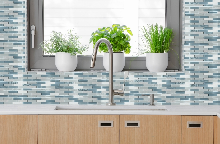 Emser Tile Volare Glass Mosaic - Nuvole