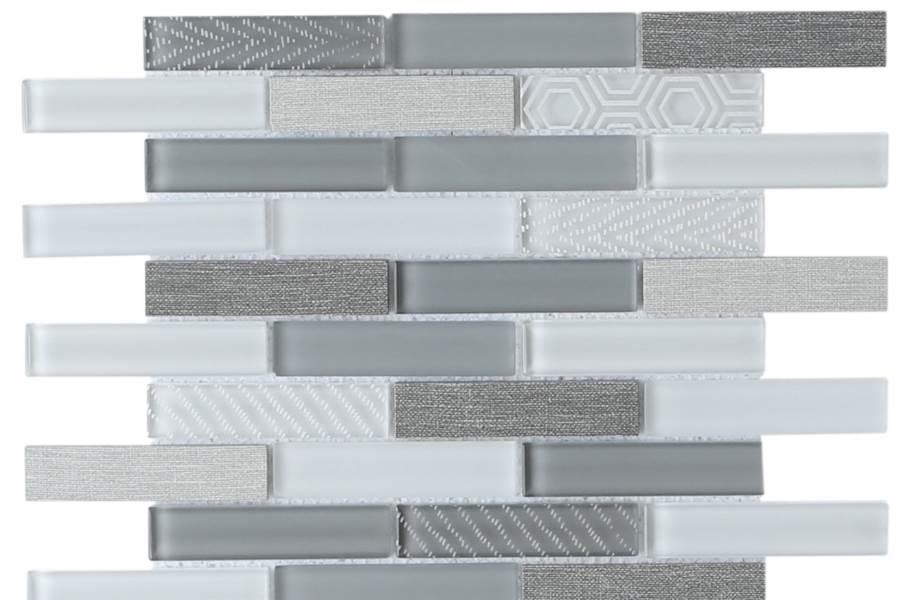 Emser Tile Volare Glass Mosaic - Nebbia