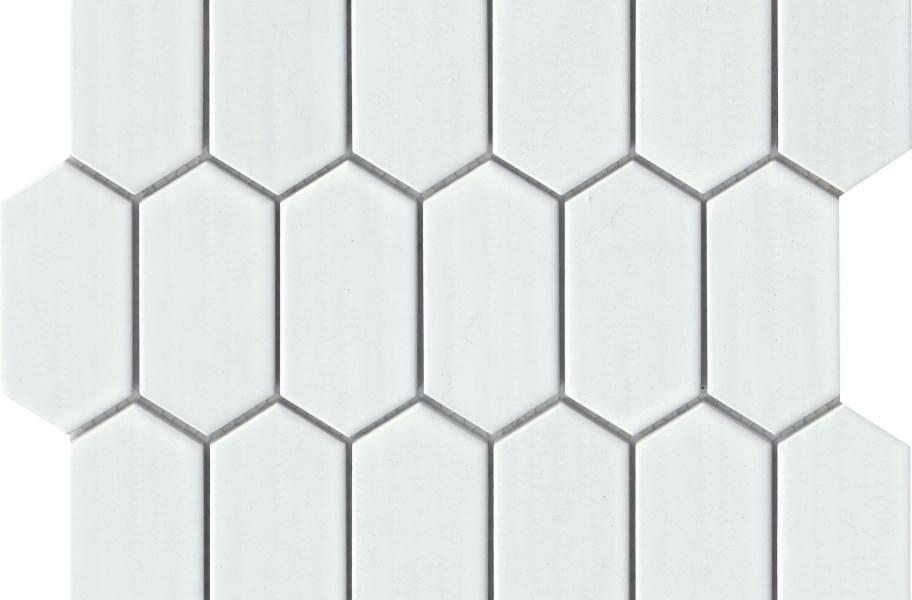 Emser Tile Omni Mosaic - White Glossy
