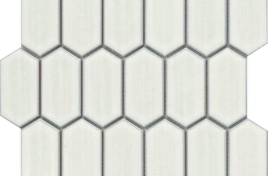 Emser Tile Omni Mosaic - Ivory Glossy