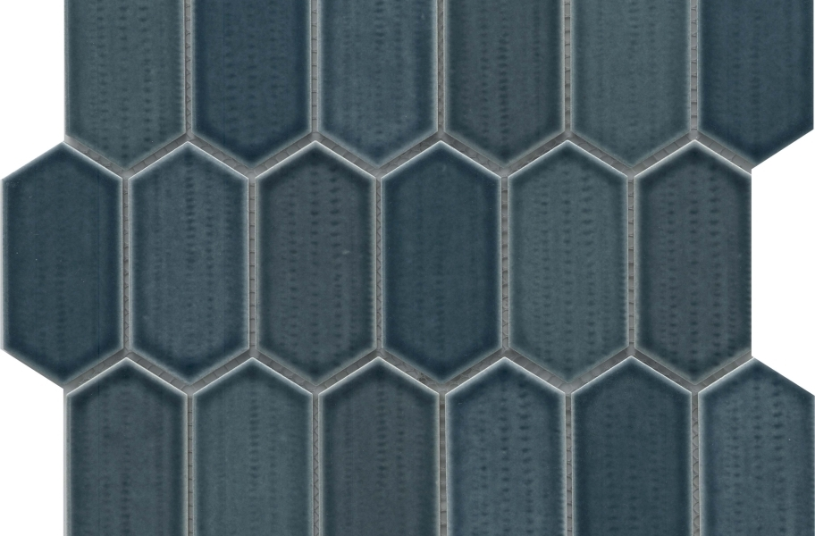 Emser Tile Omni Mosaic - Navy Glossy