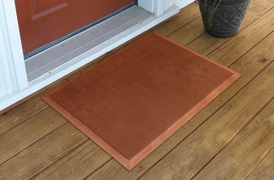 Rubber Brush Entrance Mat