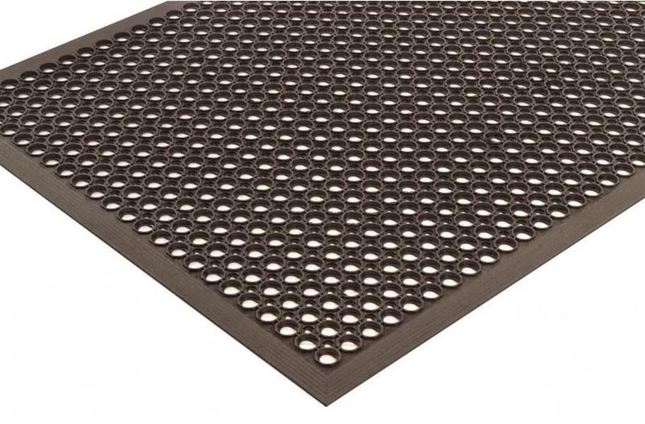 Sanitop Drainage Anti-Fatigue Mat - Black